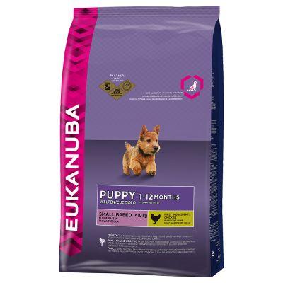 Dubbelpak: 2 Grote Zakken Eukanuba Puppy Hondenvoer
