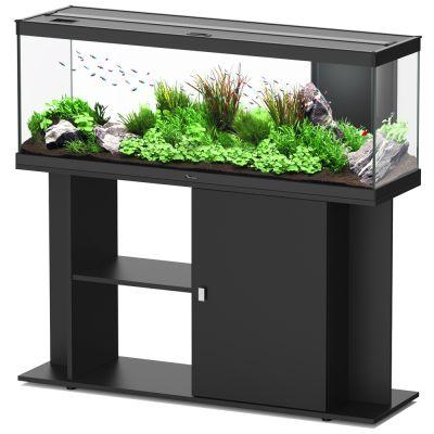 Aquatlantis style led 120 x 40 ensemble aquarium sous - Meuble pour aquarium 120 litres ...