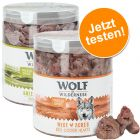 2er Mix: Wolf of Wilderness -  Gefriergetrocknete Premium-Snacks