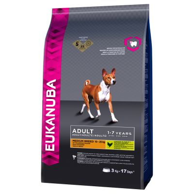 Eukanuba Adult Medium Breed poulet pour chien