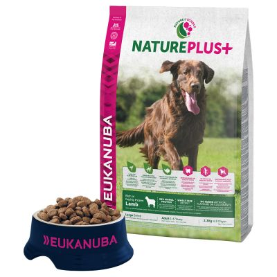 Eukanuba NaturePlus+ Adult Large Dog Lam Hondenvoer