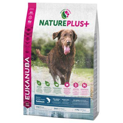 Eukanuba NaturePlus+ Adult Large Dog Zalm Hondenvoer