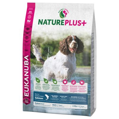 Eukanuba NaturePlus+ Adult Medium Dog Zalm Hondenvoer