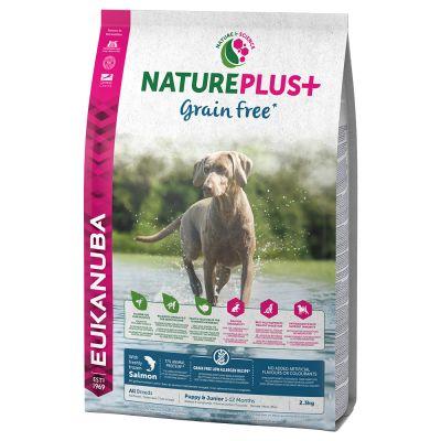 Eukanuba NaturePlus+ Graanvrij Puppy Zalm Hondenvoer