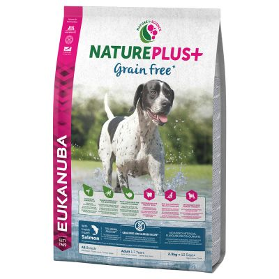 Eukanuba NaturePlus+ Grain-Free Adult – Salmon