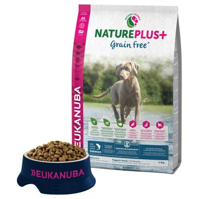 Eukanuba NaturePlus+ Grain-Free Puppy - Salmon