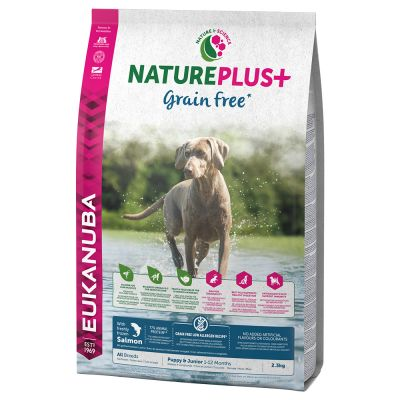 Eukanuba NaturePlus+ Grainfree Puppy Salmone
