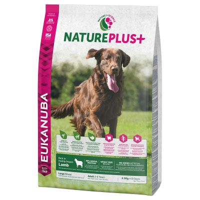 Eukanuba NaturePlus+ Large Adult – Lamb
