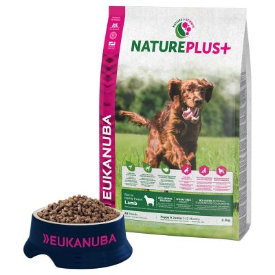 Eukanuba NaturePlus+ Puppy Agnello