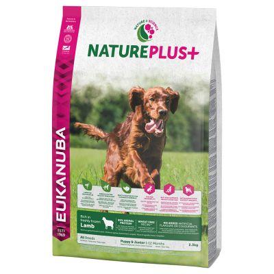 Eukanuba NaturePlus+ Puppy Lam Hondenvoer