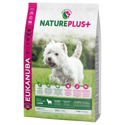 Eukanuba NaturePlus+ Small Adult - Lamb