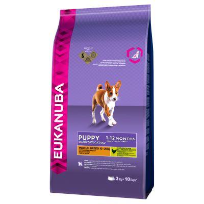 Eukanuba Puppy Medium Breed Huhn