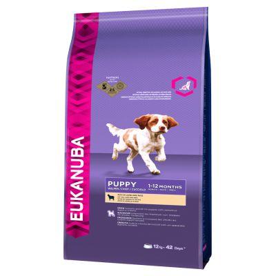 Eukanuba Puppy Small / Medium Breed Lamm & Reis