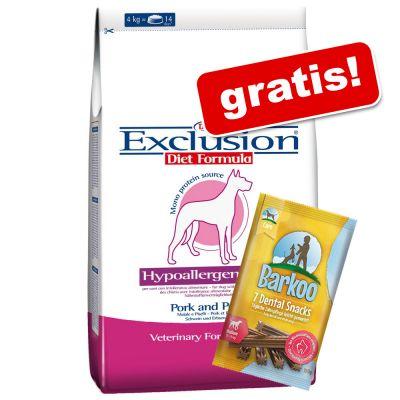 Exclusion Diet + 7 Barkoo Dental Snacks gratis!