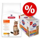 Extra voordelig! Hill's Science Plan Droogvoer + 12 x 85 g Hill's Natvoer