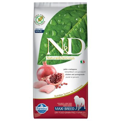 Farmina N&D Grain Free Adult Maxi Pollo & Melograno