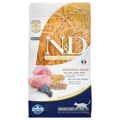 Farmina N&D Low Grain Adult Cat Agnello e Mirtillo