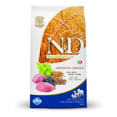 Farmina N&D Low Grain Adult Medium Agnello e Mirtillo