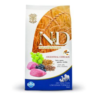Farmina N&D Low Grain Adult Mini Agnello e Mirtillo