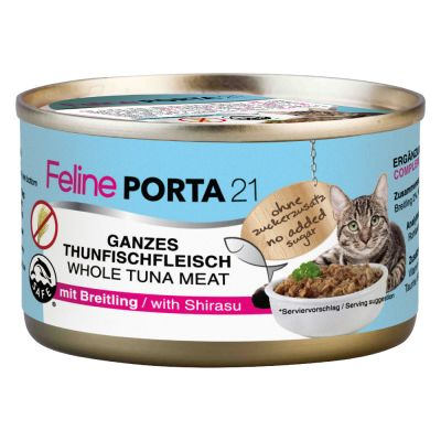 Feline Porta 21 Katzenfutter 6 x 90 g