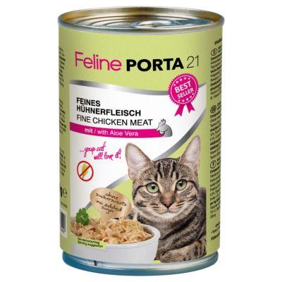 Feline Porta Cat Food X G At Zooplus - Porta 21