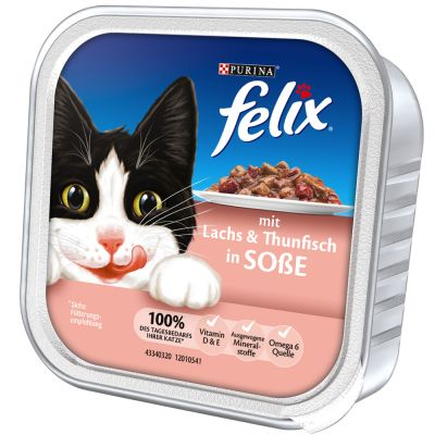 Felix Cat Food Trays