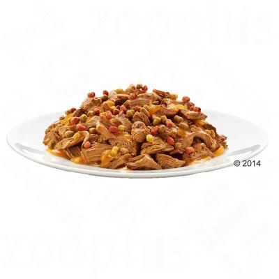 Felix Sensations Crunchy Crumbles 10 x 100 g + Topping 40 g