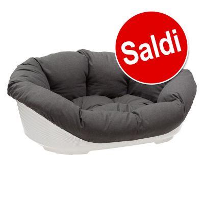 Ferplast Cesta-sofà con rivestimento antracite