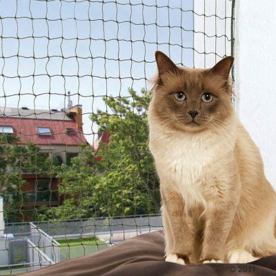 Filet de protection Trixie vert olive pour chat
