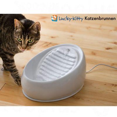 Fontaine à eau Lucky Kitty en céramique 1,5L