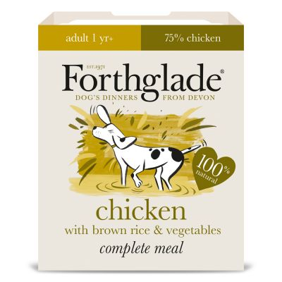 Forthglade Complete Meal Adult Dog - Chicken with Brown Rice
