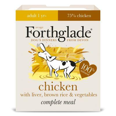 Forthglade Complete Meal Adult Dog - Chicken with Liver