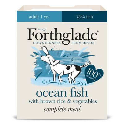 Forthglade Complete Meal Adult  Dog - Fish with Brown Rice