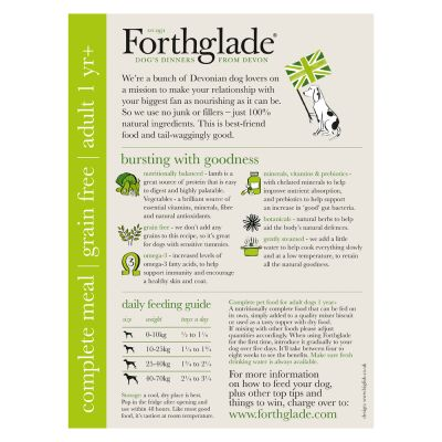 Forthglade Complete Meal Grain Free Adult  Dog - Mixed Pack