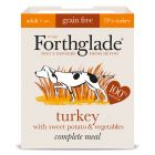 Forthglade Complete Meal Grain Free Adult Dog - Turkey