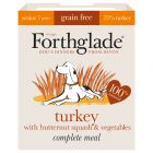 Forthglade Complete Meal Grain-Free Senior 7+  Dog - Turkey
