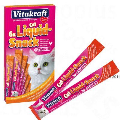 Friandises liquides pour chat Vitakraft poulet, taurine