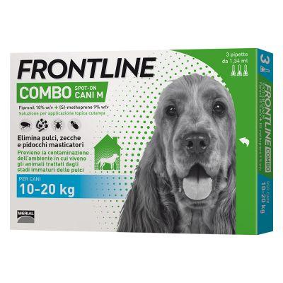 Frontline Combo Spot on Cani M (Cani da 10 kg a 20 kg)