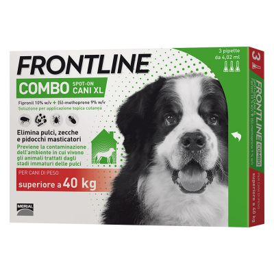 Frontline Combo Spot on Cani XL (Cani con peso > 40 kg)