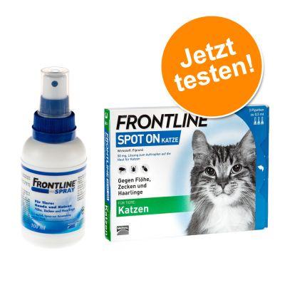 Frontline® Kombipaket: Spray + Spot on Katze