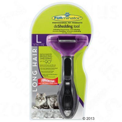 FURminator DeShedding Tool - Long Hair Cats