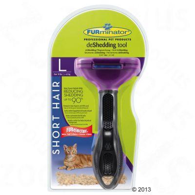 FURminator deShedding Tool per gatti