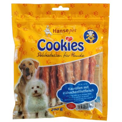 200g Cookie's Delikatess Chicken Chew Roles - 20% Off!*