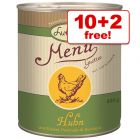 800g Lukullus Menu Gustico Wet Dog Food - 10 + 2 Free!*