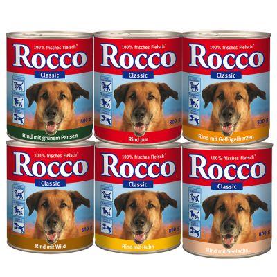 Gemengd probeerpakket Rocco 6 x 800g