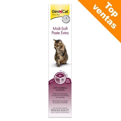GimCat Malt-Soft Extra pasta de malta para gatos