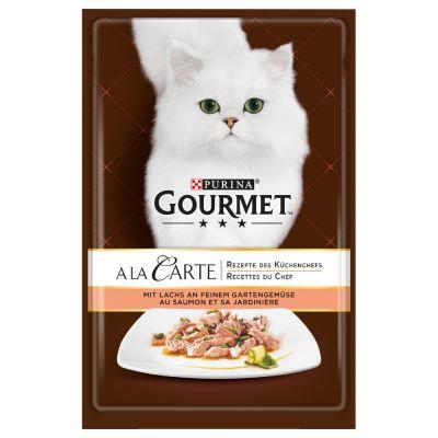 Gourmet A la Carte en sobres 4 x 85 g - Pack de prueba