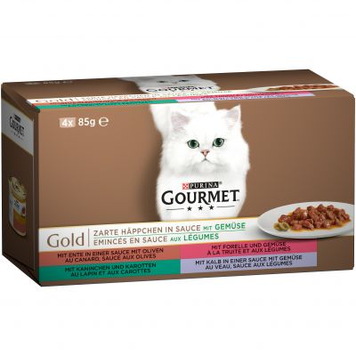 Gourmet Gold Mixed Trial Packs 4 x 85g