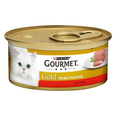 Gourmet Gold Mousse Voordeelpakket Kattenvoer 24 x 85 g