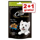 2 + 1 gratis! 3 Cesar snacks